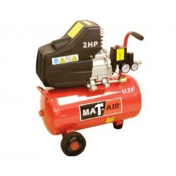 COMPRESSOR MATAIR 1.5KW 2HP 24L 220V DD AIR2000