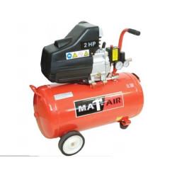 COMPRESSOR MATAIR 1.5KW 2HP 50L 220V DD AIR2020