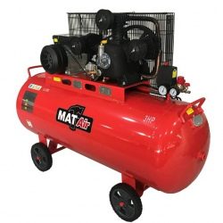 COMPRESSOR MATAIR 2.2KW 3HP 200 LITRE 220V SINGLE STAGE