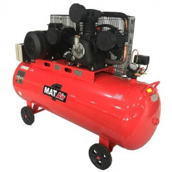 COMPRESSOR MATAIR 5.5KW  7.5HP 225 LITRE  380V  SINGLE STAGE