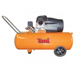 Compressor 100L Oil , 2 Twin Head Direct Drive, 10 Bar / TONI