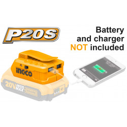 20V PS+ C/L USB -A CHARGER INGCO
