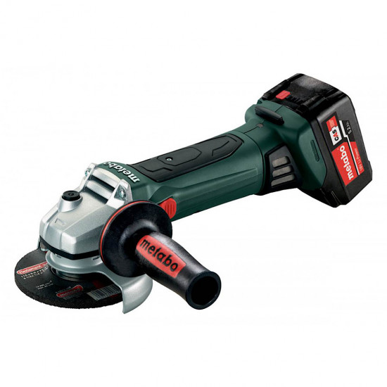 W18 LTX 125 QUICK ANGLE GRINDER METABO