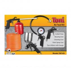 Spray Gun, Cleaning Gun, Blow Gun, Tyre Gauge Kit / TONI
