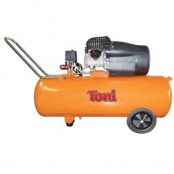 Compressor  Toni 100L Oil , 2 Twin Head Direct Drive, 10 Bar