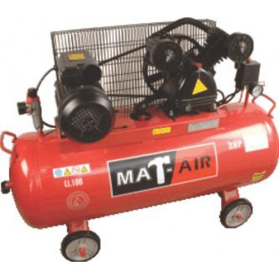 COMPRESSOR MATAIR 2.2KW|3HP 100L 220V BD AIR2050