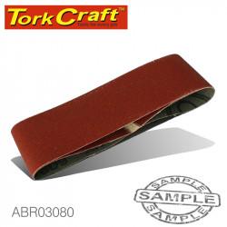 SANDING BELT 60 X 400MM 80GRIT 2/PACK (FOR TRITON PALM SANDER)