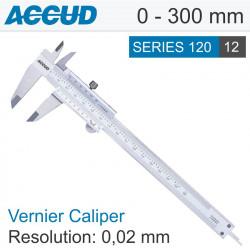 VERNIER CALIPER 0-300MM 0.02MM RES.