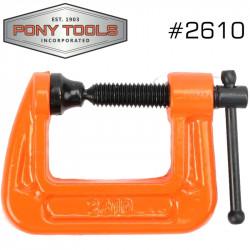 PONY 25MM 1' C-CLAMP