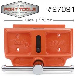 PONY 4' X 7' WOODWORKER'S VICE