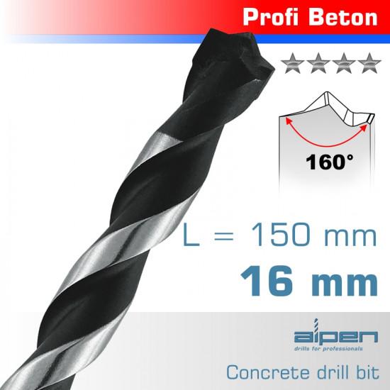 CONCRETE PROFI BETON DRILL BIT 16MM