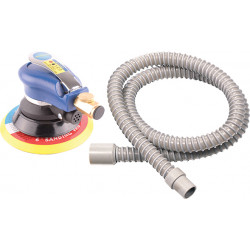 AIR ORBITAL SANDER 150MM HOOK AND LOOP WITH DUST EXTRACTION