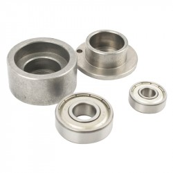 AIR ANGLE GRIND. SERVICE KIT BEARING & PLATE (21-23/28) FOR AT0013