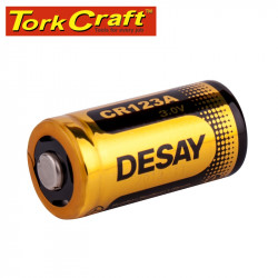 BATTERY 3V LITHIUM CR123 PHOTO 1 CARDED