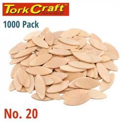 BISCUITS #20 PER BOX OF 1000 TORK CRAFT