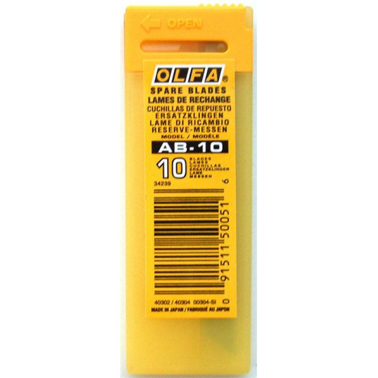 OLFA BLADES AB-10 10/PACK 9MM