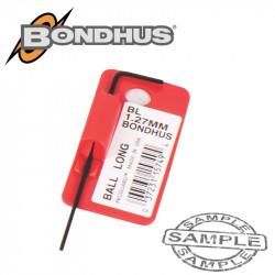 HEX BALL END L-WRENCH 1.27MM PROGUARD SINGLE BONDHUS