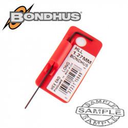 HEX END L-WRENCH 1.27MM PROGUARD SINGLE BONDHUS