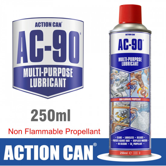 AC-90 CO2 250ML MULTI PURPOSE LUBE