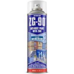 ZG-90 BLUE 500ML ANTI RUST SPRAY COLD ZINC GALVANISING RAPID DRY