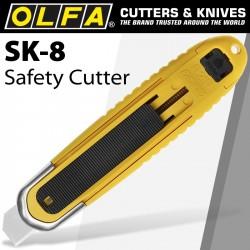 OLFA AUTOMATIC SELF-RETRACTING SAFETY KNIFE & BOX OPENER