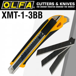 OLFA POWER X DESIGN XMT CUTTER WITH X3 ULTRA SHARP MTBB BLADES