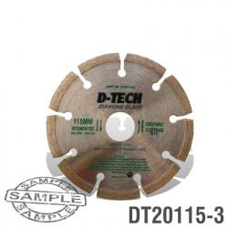 DIAMOND BLADE SEGMENTED 115 X 22.23 BRICK & MASONRY