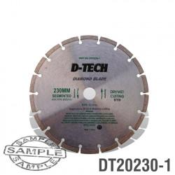 DIAMOND BLADE SEGMENTED STD. 230 X 22.23MM