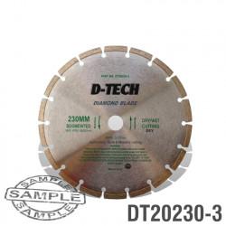 DIAMOND BLADE SEGMENTED STD. 230 X 22.23 BRICK & MASONRY