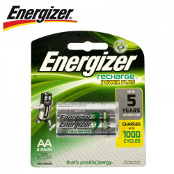 ENERGIZER RECHARGE 2000MAH   AA - 2 PACK (MOQ6)
