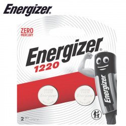 ENERGIZER 1220 3V LITHIUM COIN BATTERY 2 PACK  (MOQ 12)