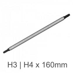 D/END POWER BIT H3/H4  X 160MM BULK