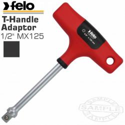 FELO 397 1/2'MX125 ADAPTER T-HANDLE