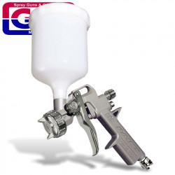 SPRAY GUN UPPER CUP HIGH PRESURE 4-8 BAR 1.5 NOZ BLISTER PACK