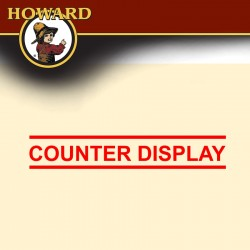 HOWARD COUNTER DISPLAY FEED-N-WAX & ORANGE OIL 12 X EACH 237 ML