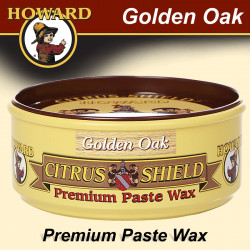 HOWARD GOLDEN-OAK CITRUS-SHIELD PASTE WAX 325 ML