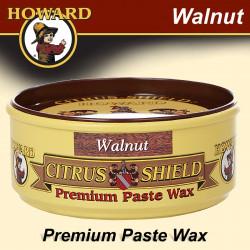 HOWARD WALNUT CITRUS-SHIELD PASTE WAX 325 ML