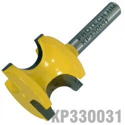 EXTERNAL BULL NOSE 1/2' X 22MM FULL RADIUS 12.7MM 1/4' SHANK