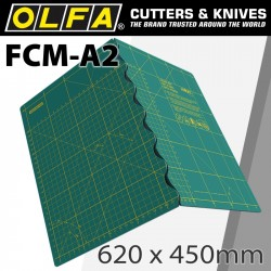 FOLDING MAT FOR ROTARY CUTTERS 630X450X2.5MM