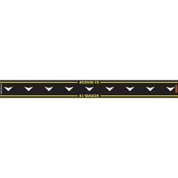 BLACK ARROW DOWN - 800MM X 80MM SOCIAL DISTANCING STRIPS