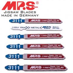 JIGSAW BLADE METAL T-SHANK 21TPI T118A X 5 + 3111-F FREE
