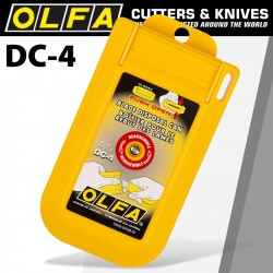 OLFA BLADE DISPOSAL CASE WITH PUSH-OPEN LID