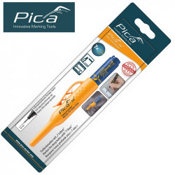 PICA INK MARKER FOR DEEP HOLES BLUE