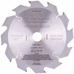 SAW BLADE TCT 160X2.2X20X12T WOOD PROF. PRO-TECH FES. TS55 PW12