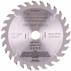 SAW BLADE TCT 160X2.2X20X28T WOOD PROF. PRO-TECH FES. TS55 W28