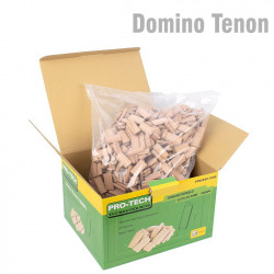 DOMINO TENON 6X40MM 1000PC COLOUR BOX BEECH WOOD