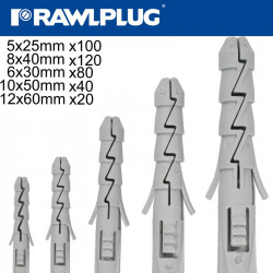 EXPANSION PLUGS ONLY 5-6-8-10-12