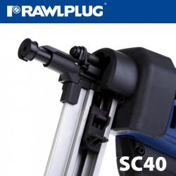 GAS STEEL AND CONCRETE NAILER SC40