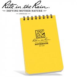 RITE IN THE RAIN 3'X5' NOTEBOOK YELLOW