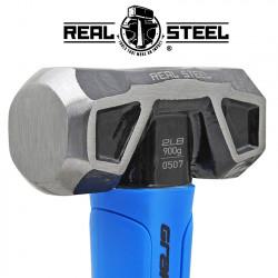 HAMMER SLEDGE/CROSS STRIKE 900G 2LB GRAPH. HANDLE REAL STEEL